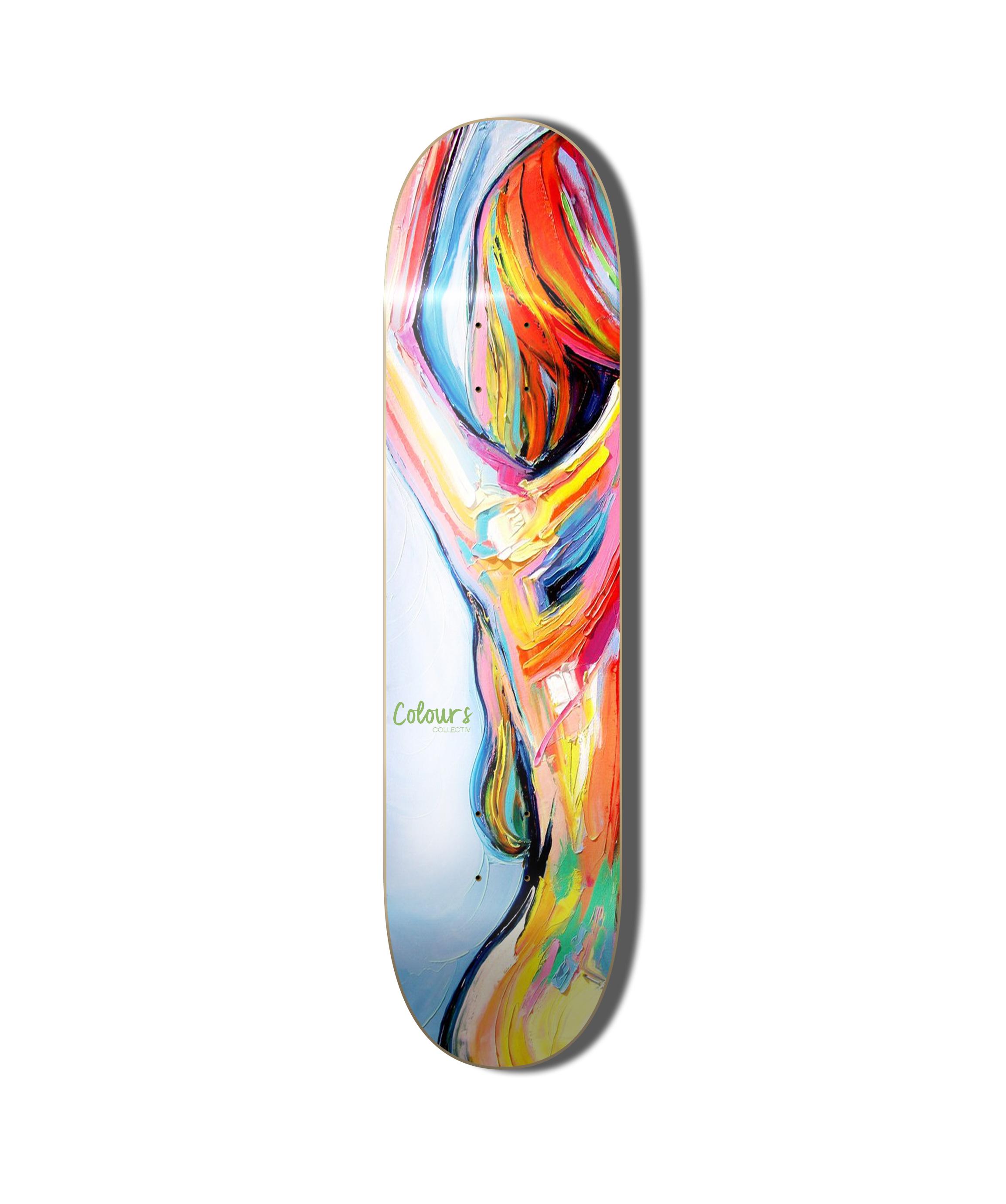 Nude skateboard decks